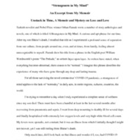 Strangeness in My Mind essay.pdf